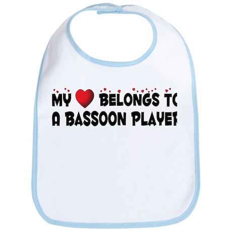 Belongs To A Bassoon Player Bib