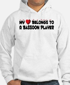 Belongs To A Bassoon Player Hoodie