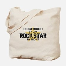 Didgeridoo Player Rock Star Tote Bag
