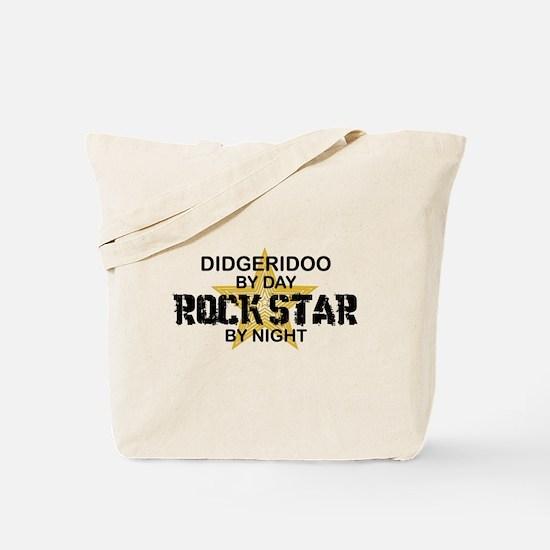 Didgeridoo Player Rock Star Tote Bag