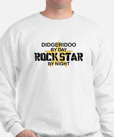 Didgeridoo Player Rock Star Sweatshirt