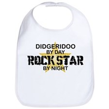 Didgeridoo Player Rock Star Bib
