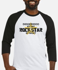 Didgeridoo Player Rock Star Baseball Jersey