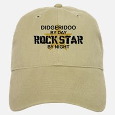 Didgeridoo Player Rock Star Baseball Baseball Cap