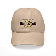 Didgeridoo Player Rock Star Baseball Cap