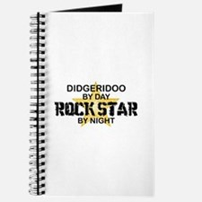 Didgeridoo Player Rock Star Journal