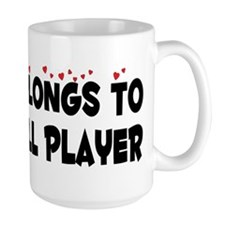 Belongs To A Baseball Player Mug
