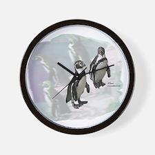 Humboldt Penguins Wall Clock
