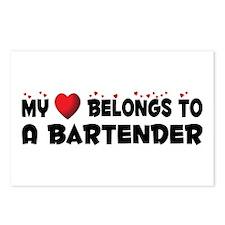 Belongs To A Bartender Postcards (Package of 8)