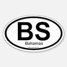 BS Bahamas Oval Decal