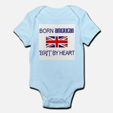 Born American, British by Hea Infant Creeper