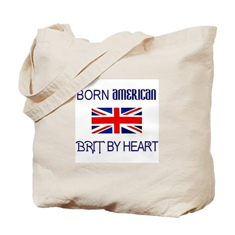 Born American, British by Hea Tote Bag