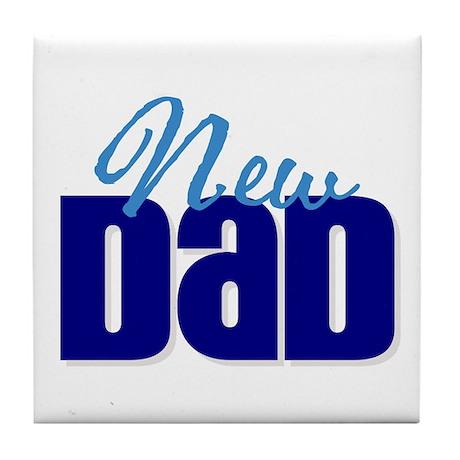New Dad Tile Coaster