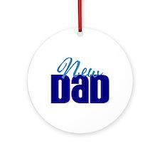 New Dad Ornament (Round)