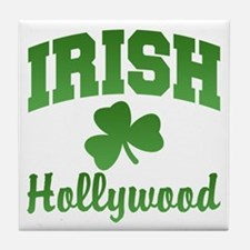 Hollywood Irish Tile Coaster