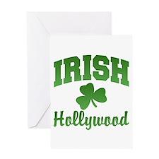 Hollywood Irish Greeting Card