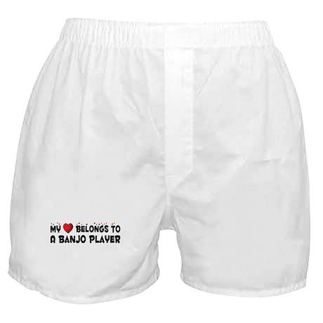 Belongs To A Banjo Player Boxer Shorts