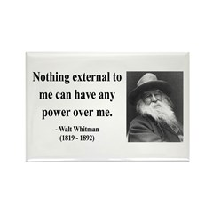 Walter Whitman 6 Rectangle Magnet