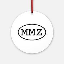 MMZ Oval Ornament (Round)
