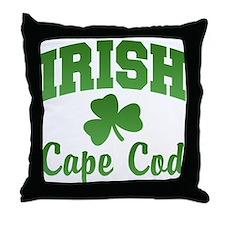 Cape Cod Irish Throw Pillow