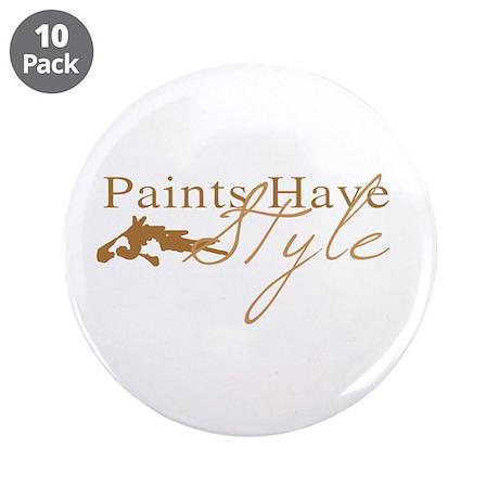 "Paint Horse 3.5"" Button (10 pack)"