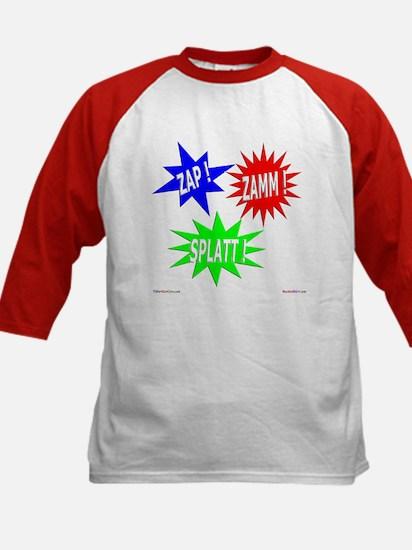 Zap Zamm Splatt Kids Baseball Jersey