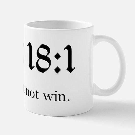 Pats 18:1 Mug