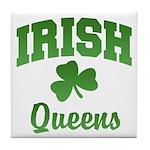 Queens Irish Tile Coaster