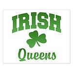 Queens Irish Small Poster