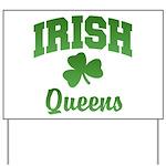 Queens Irish Yard Sign