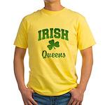 Queens Irish Yellow T-Shirt