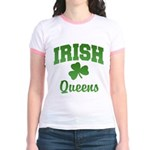 Queens Irish Jr. Ringer T-Shirt