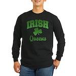 Queens Irish Long Sleeve Dark T-Shirt
