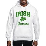 Queens Irish Hooded Sweatshirt