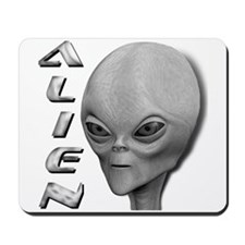 Alien Type 1 Grey Mousepad