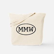 MMW Oval Tote Bag