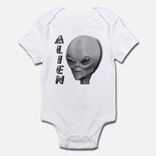 Alien Type 1 Grey Part 2 Onesie