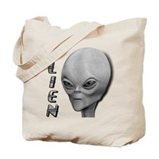 Alien Type 1 Grey Part 2 Tote Bag