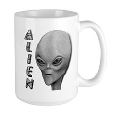 Alien Type 1 Grey Part 2 Mug