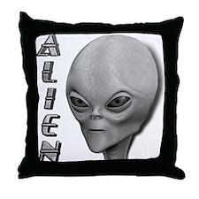 Alien Type 1 Grey Part 2 Throw Pillow