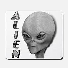 Alien Type 1 Grey Part 2 Mousepad