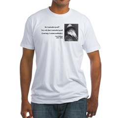Walter Whitman 7 Fitted T-Shirt