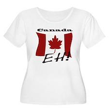 Unique Canadian flag T-Shirt