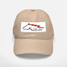 I Ride Baseball Baseball Cap