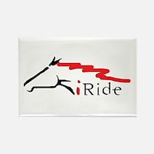 I Ride Rectangle Magnet