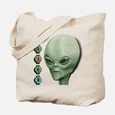 Alien Type 1 Lime Part 2 Tote Bag