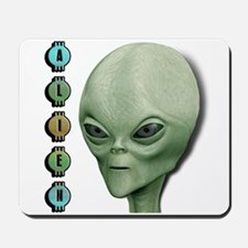 Alien Type 1 Lime Part 2 Mousepad