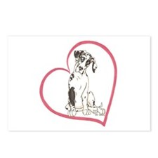 NH Pup Heartline Postcards (Package of 8)