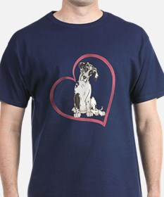 NH Pup Heartline T-Shirt