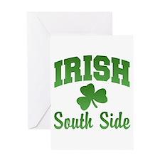 South Side Irish Greeting Card